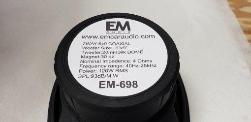 EM-698 6×9