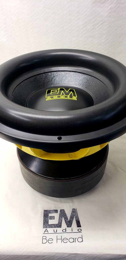15″ Custom Hand Built Subwoofer 5000rms (Team 15)