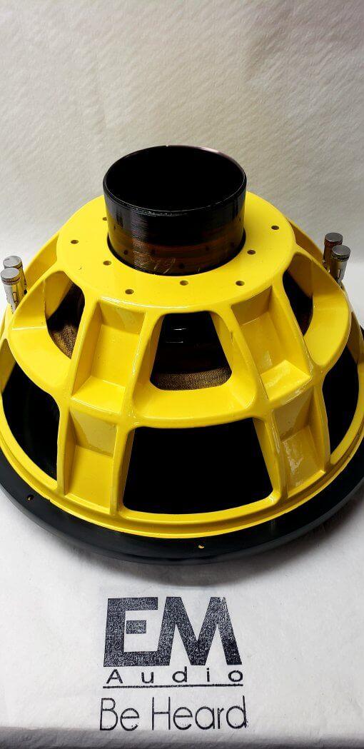 15″ Custom Hand Built Subwoofer 5000rms (Team 15)