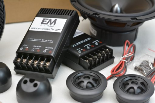 EM Audio EM-661 6.5 Component Set