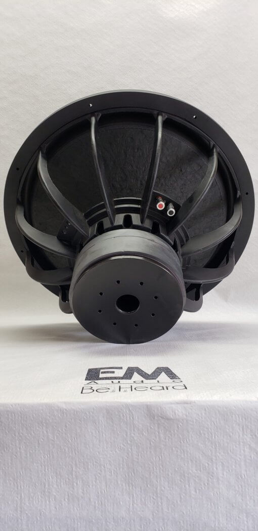 EM-1krms – EM Audio 18″ Custom Hand Built Subwoofer (1000 watts)