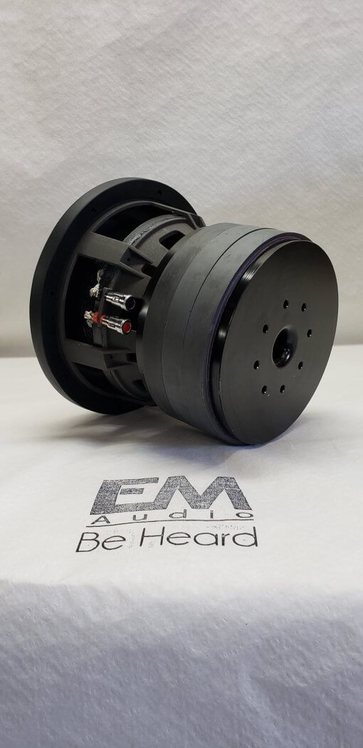 EM audio 1000rms Custom 8″ Hand Built Subwoofer