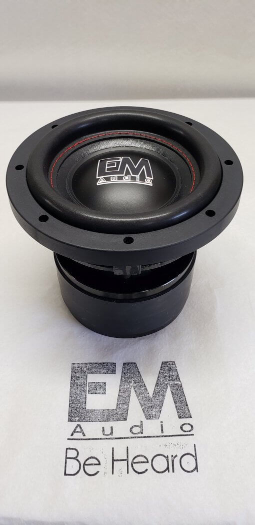 EM-6.5HD 600rms true audiophile Custom Hand built subwoofer.
