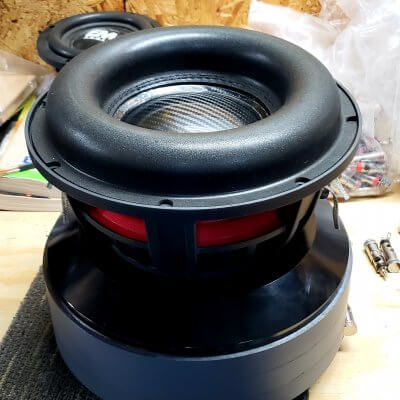 10″ Custom hand built subwoofer 5000rms (Team 10)