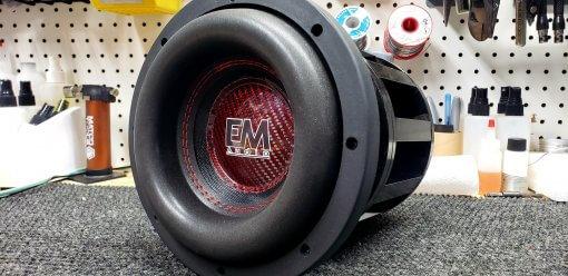 EM Audio NEO Custom 8″ Hand Built Subwoofer  (PREORDER)